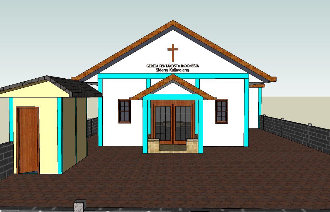 Proses Pembangunan GPI sidang Kalimalang » Desain Awal Greja